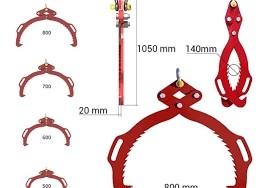 houtklemmen stammengrijper Hakselaar Versnipperaar Zaagkloofmachine